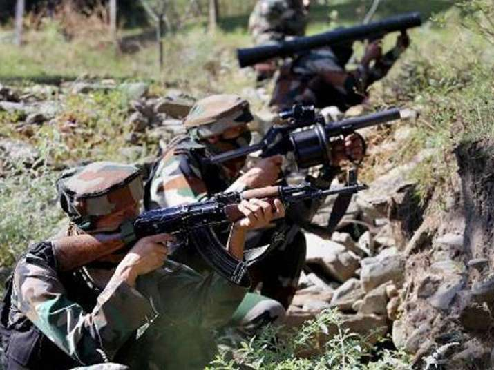 Kashmir Multiple grenade attacks by terrorists on security