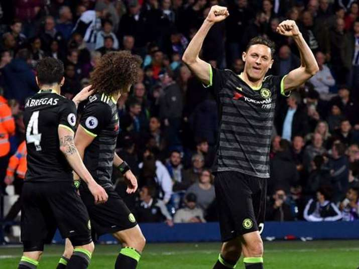Chelsea beat West Bromwich to clinch English Premier League