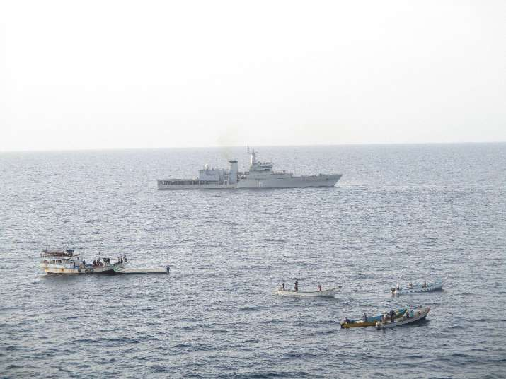 Indian Navy foils piracy attempt on Liberian vessel in Gulf