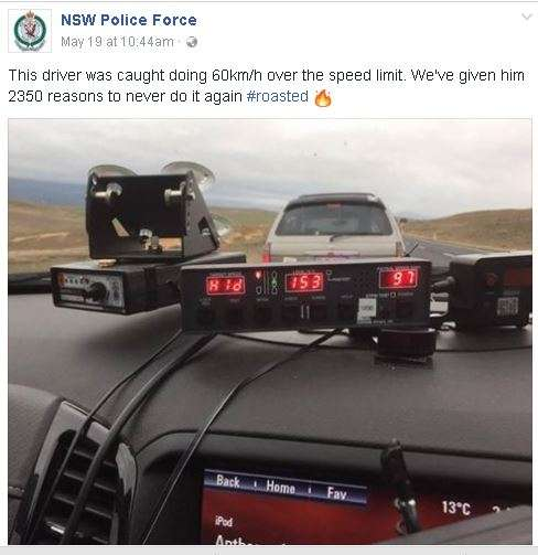 India Tv - NSW Police posts