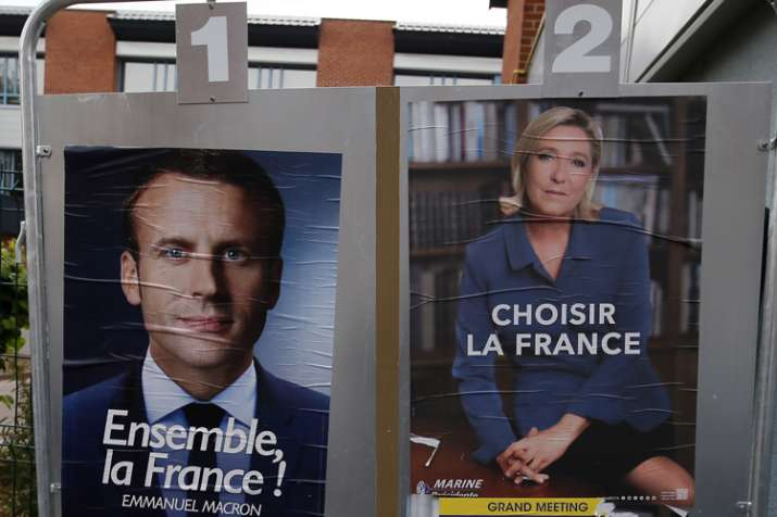 France votes to elect new president today