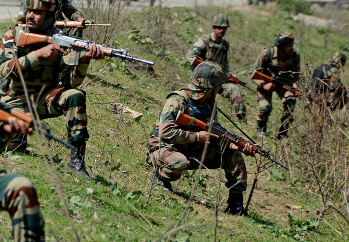 Indian Army has destroyed Pakistani posts in Naushera sector