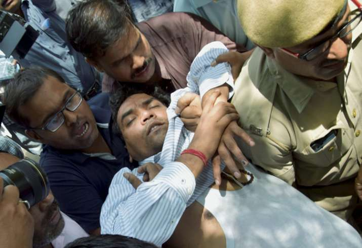 Kapil Mishra fell unconscious during a press conference