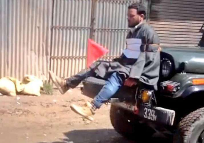 Major who tied Kashmiri man to jeep's bonnet awarded for