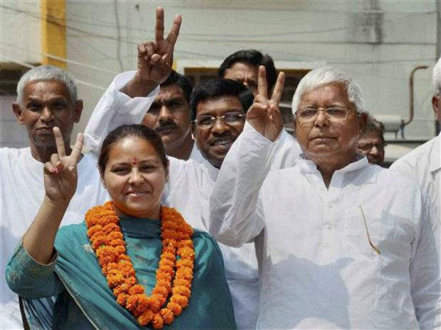 Fresh trouble for Lalu Yadav as ED arrests Misa Bharti's
