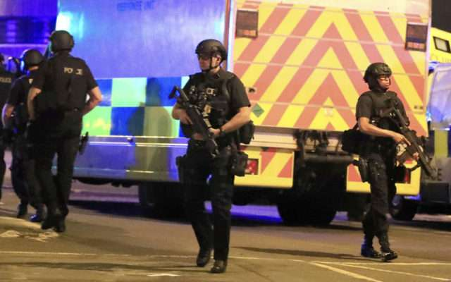 Recent bombing in Manchester killed 22 people