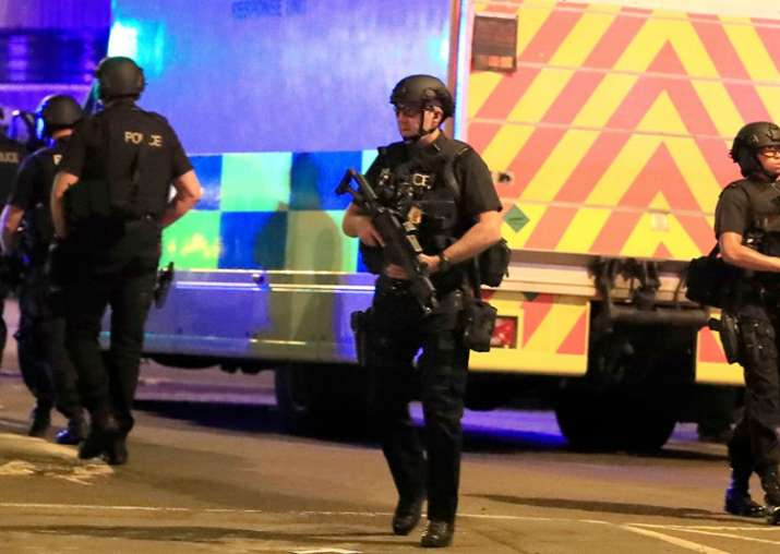 Large part of Manchester bombing network held, UK Police