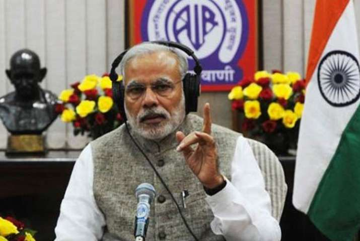 PM Modi addressed the nation today in 'Mann Ki Baat'