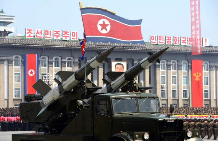 North Korea fires yet another ballistic missile, say US and