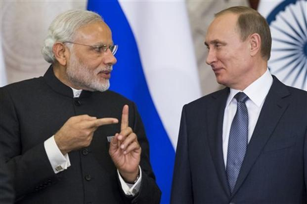 Ahead of Modi-Putin meet, India makes Russia 'work