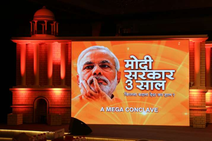 India close to ache din after three years of honest,