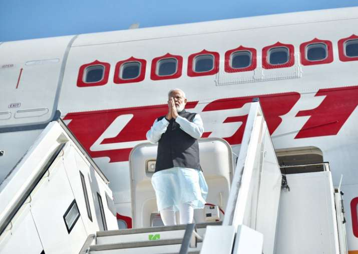 PM Modi arrives in Germany on first leg of his four-nation
