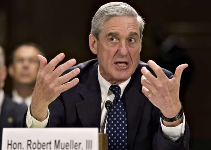 File photo of former FBI Director Robert Mueller