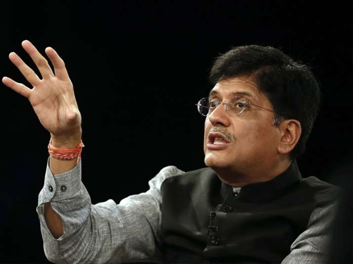 File pic of Union Power Minister Piyush Goyal