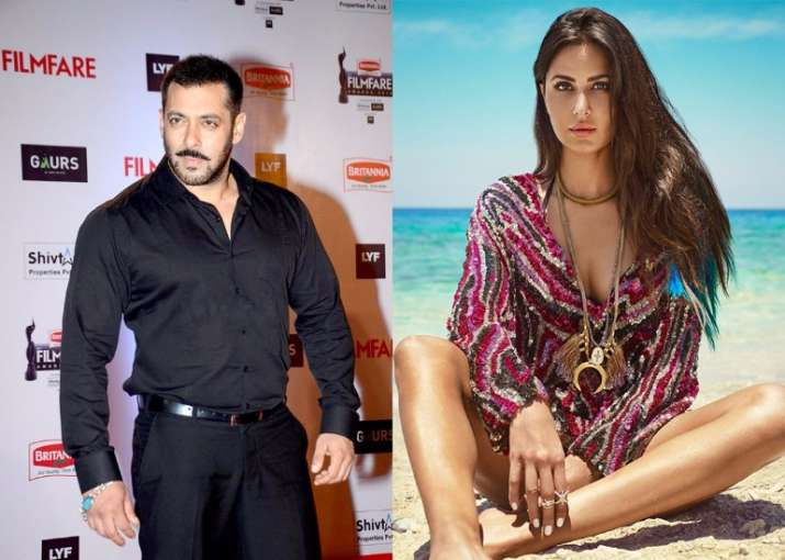 salman reacted on Katrina in thugs of hindostan