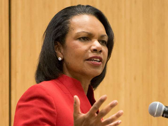 File pic of Condoleezza Rice