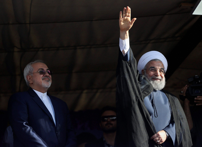 Rouhani looks to beat hard-liner in another election