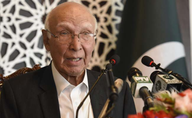 Medical visa only on Sartaz Aziz's recommendation: India to
