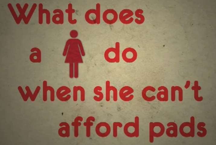 India Tv - Sanitary napkins are to be taxed at 12 pc acc to a new set of rules