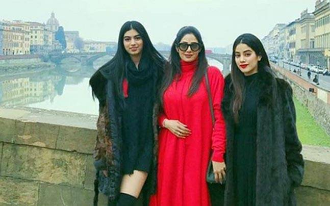 Sridevi reveals daughters Jhanvi and Khushi don't like