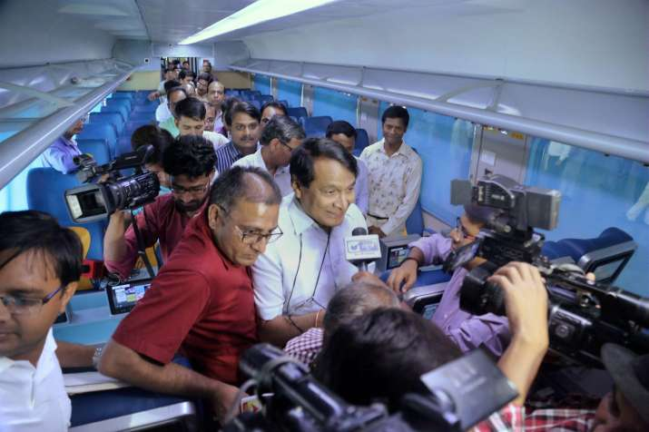 India Tv - 'Tejas Express' to debut today: 10 ultramodern facilities the train offers