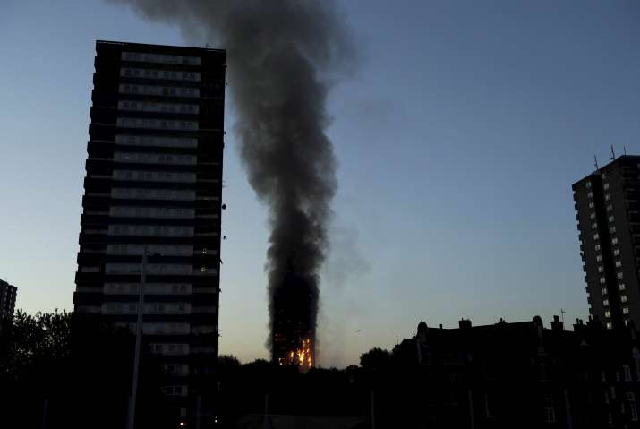 At least 6 dead as massive fire engulfs London's Grenfell