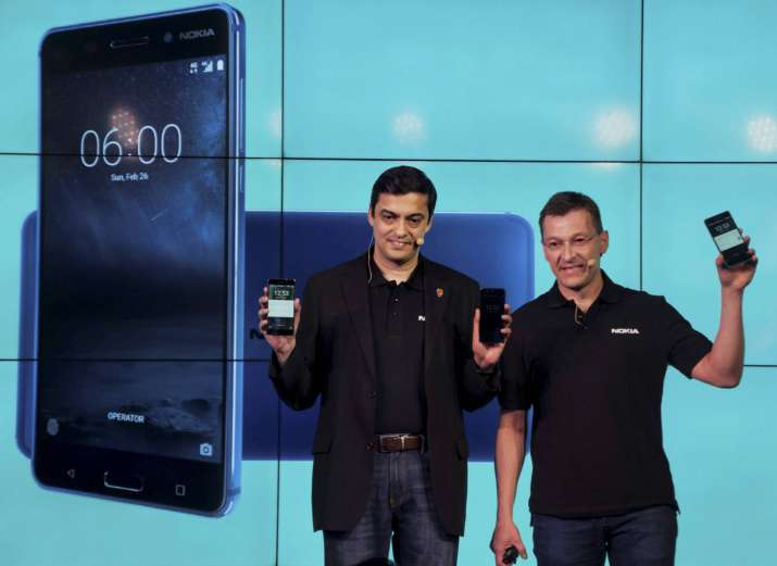 Nokia 3, Nokia 5 and Nokia 6 smartphones in India