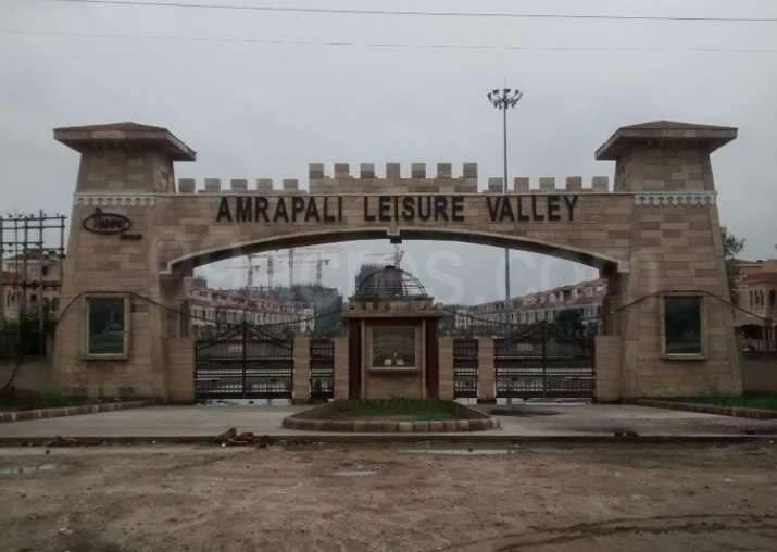 File pic - Amrapali Leisure Valley project