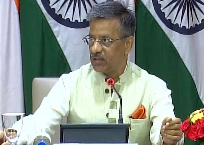 External Affairs Ministry Spokesperson Gopal Baglay