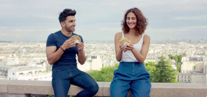 India Tv - Befikre got UA certificate despite the kissing scenes