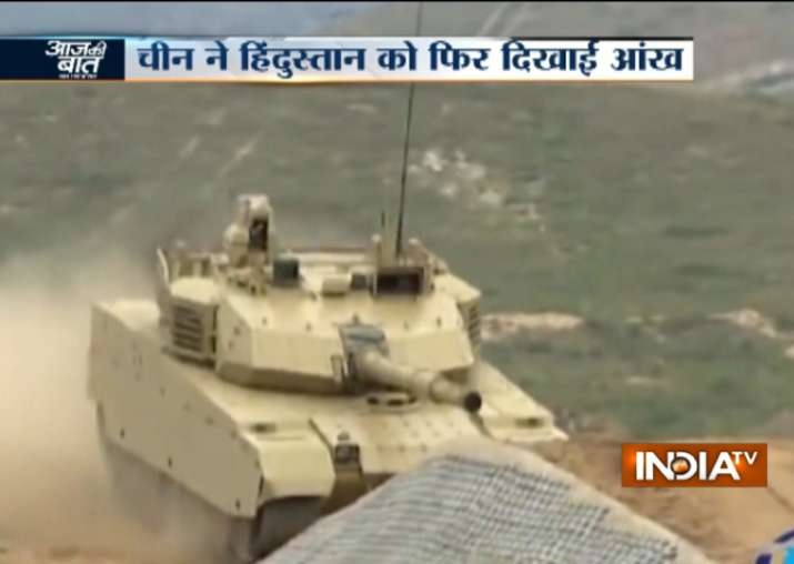 China's PLA tests new battle tank in Tibet near Indian