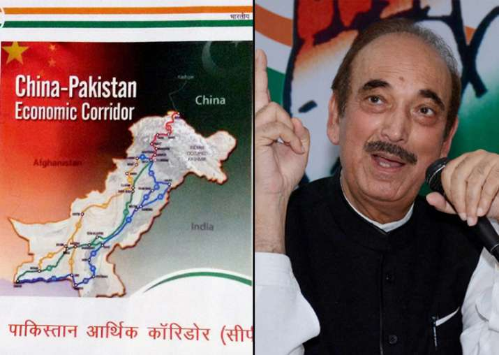 GN Azad released the booklet that labelled JK as 'India