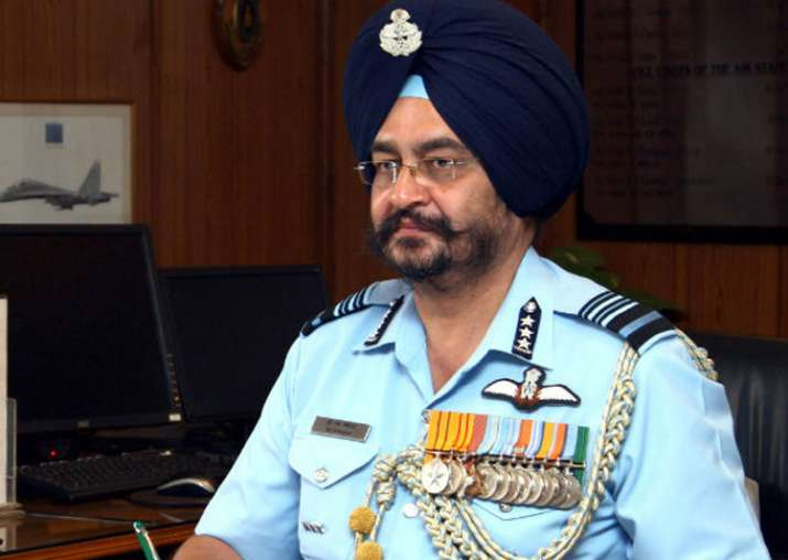 File pic of Air Chief Marshal BS Dhanoa