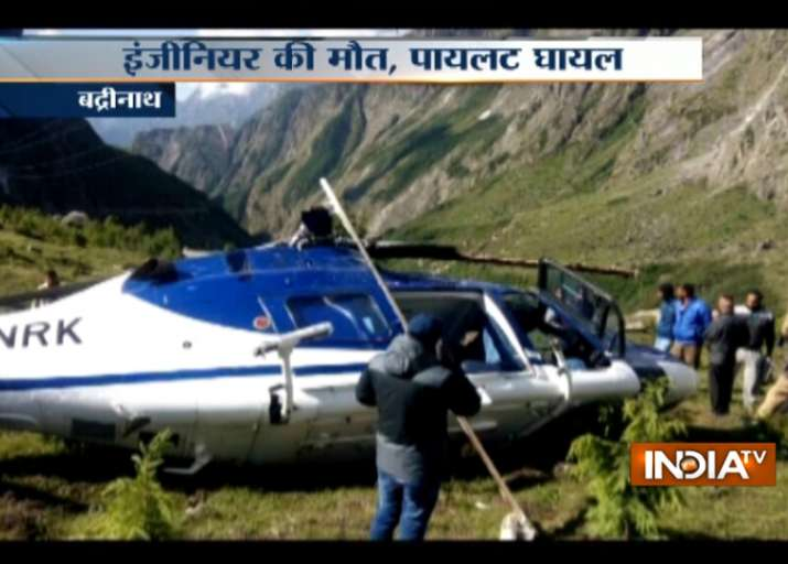 Helicopter carrying pilgrims crashes in Badrinath