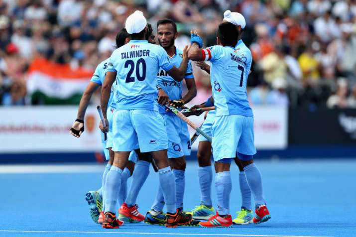 Indian Hockey Team - HWL Semifinal