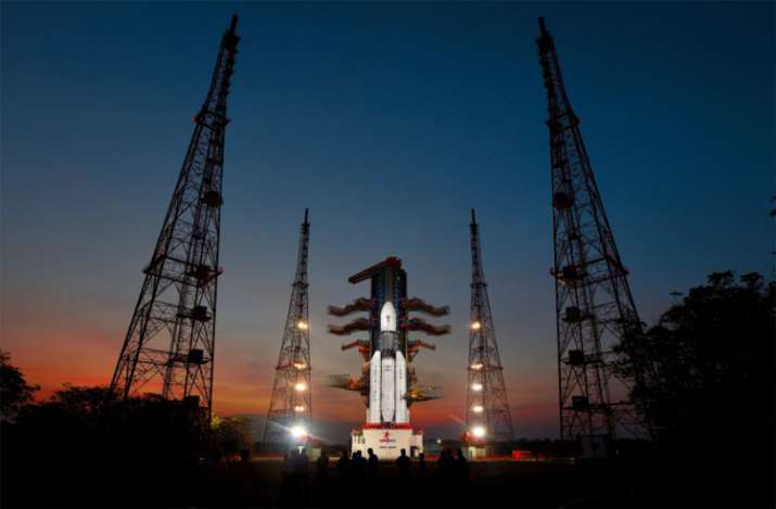 GSLV Mk-III-D1 carrying GSAT-19 communication satellite at
