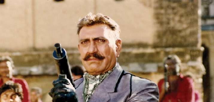 India Tv - amrish puri karan arjun negative role birthday