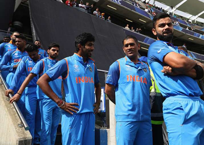 A file image of the Indian team.