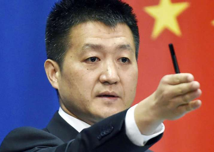 File pic - Chinese Foreign Ministry spokesman Lu Kang
