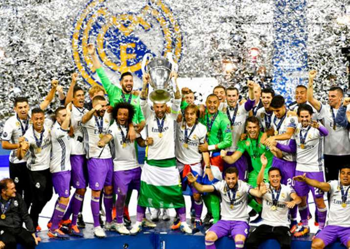 Real Madrid defeated Juventus 4-1 to retain UEFA Champions