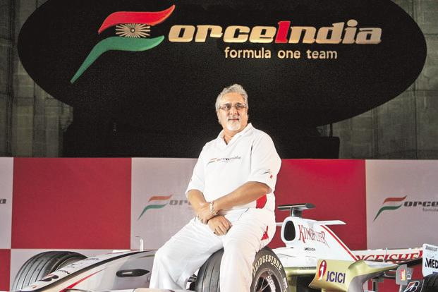 Mallya used IDBI loan for Kingfisher Airlines to fund F1