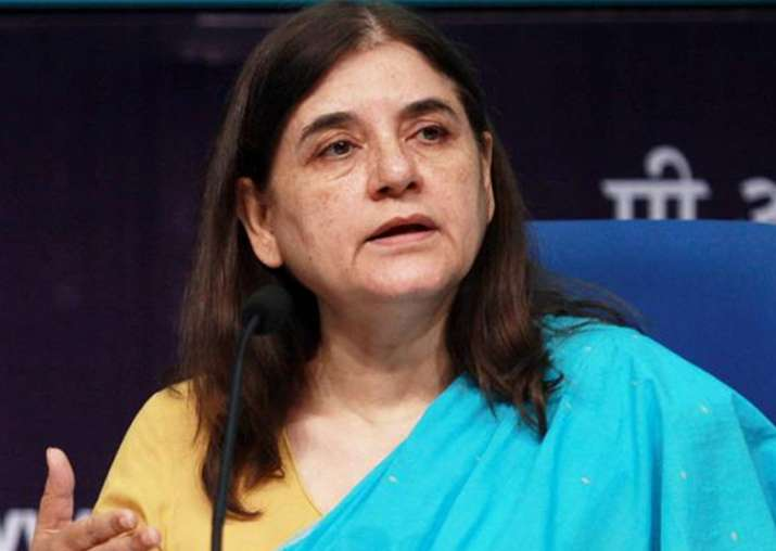 File pic of Union minister Maneka Gandhi