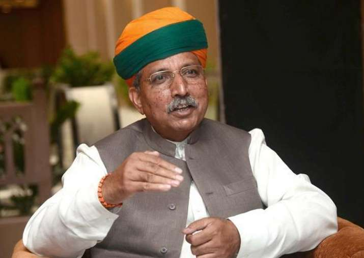 File pic - Arjun Ram Meghwal, Minister of State for Finance