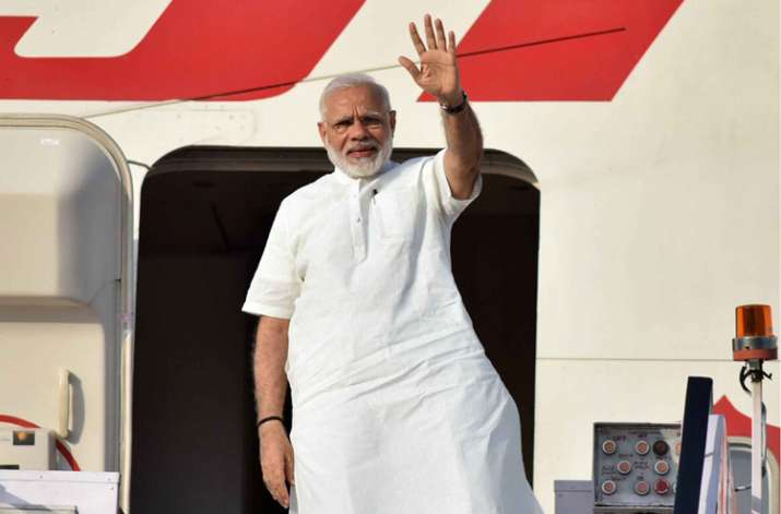 PM Narendra Modi leaves for Portugal on first leg of
