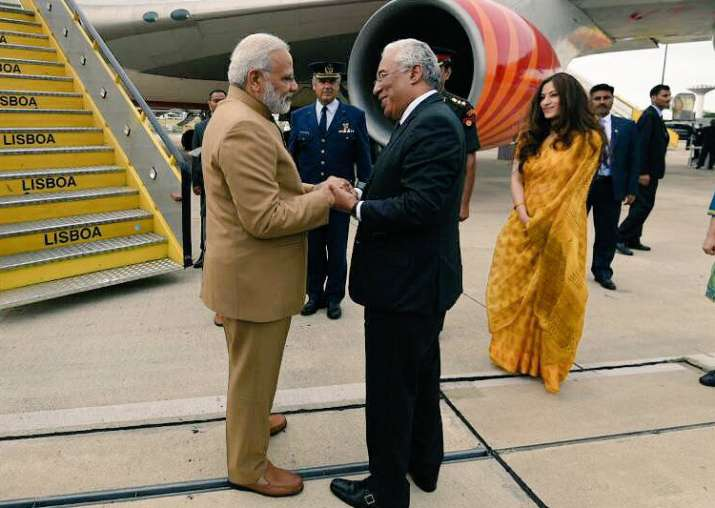 PM Modi leaves for US after concluding Portugal trip