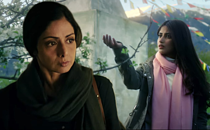 Mom: Sridevi reveals 3 new posters, Nawazuddin Siddiqui and