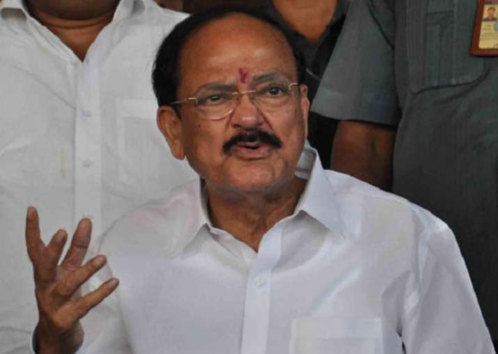 File pic of Union Minister M Venkaiah Naidu