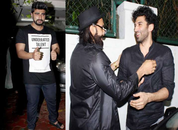 Arjun Kapoor birthday party