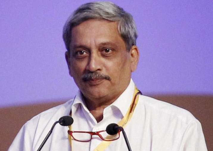 File pic of Goa Chief Minister Manohar Parrikar