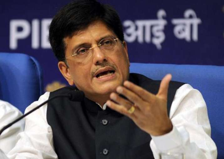 File pic of Union minister Piyush Goyal